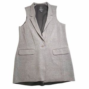 Trouve Long Vest Double Breasted Women's Medium